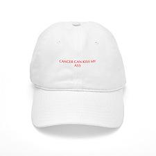 Cancer can kiss my ass-Opt red 550 Baseball Baseball Cap