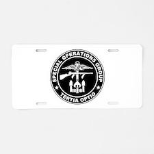 SOG - Tertia Optio (BW) Aluminum License Plate