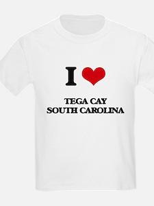 I love Tega Cay South Carolina T-Shirt