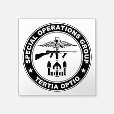 """SOG - Tertia Optio (B) Square Sticker 3"""" x 3"""""""