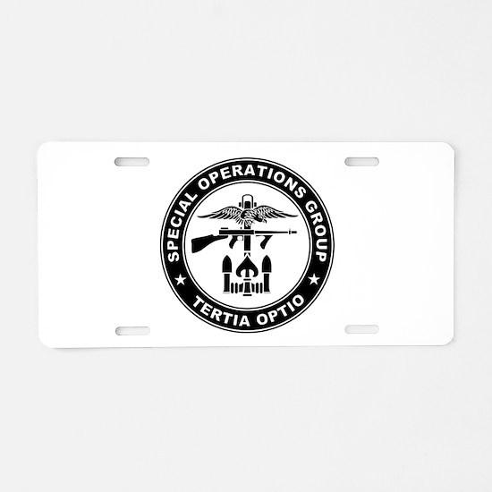 SOG - Tertia Optio (B) Aluminum License Plate