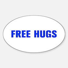 Free Hugs-Akz blue 500 Decal