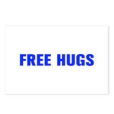 Free Hugs-Akz blue 500 Postcards (Package of 8)