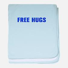 Free Hugs-Akz blue 500 baby blanket