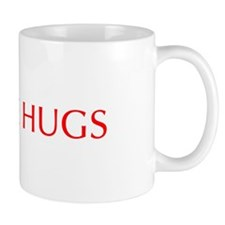 Free Hugs-Opt red 550 Mugs