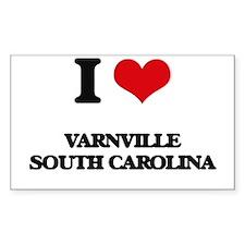 I love Varnville South Carolina Decal