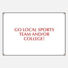Go local sports team and or college-Opt red 550 Ba