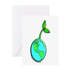 Earth Sprout Greeting Card
