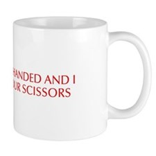 I m left handed and I hate your scissors-Opt red 5