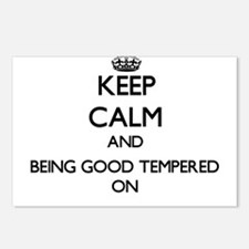 Keep Calm and Being Good Postcards (Package of 8)