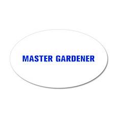 Master Gardener-Akz blue 500 Wall Decal