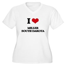 I love Miller South Dakota Plus Size T-Shirt