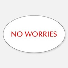 No worries-Opt red 550 Decal