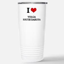 I love Volga South Dako Stainless Steel Travel Mug