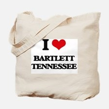 I love Bartlett Tennessee Tote Bag