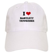 I love Bartlett Tennessee Baseball Cap