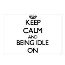 Keep Calm and Being Idle Postcards (Package of 8)