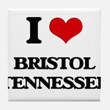 I love Bristol Tennessee Tile Coaster