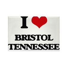 I love Bristol Tennessee Magnets