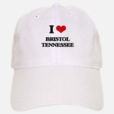 I love Bristol Tennessee Baseball Baseball Cap