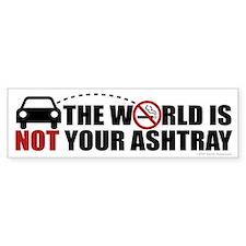 Ashtray Bumper Bumper Sticker