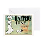 Vintage Dog Art Greeting Cards (Pk of 20)