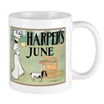 Vintage Dog Art Mug