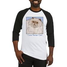 Cream Persian Cat Baseball Jersey