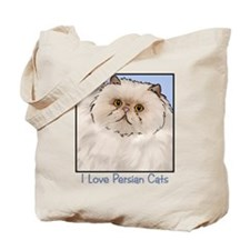 Cream Persian Cat Tote Bag