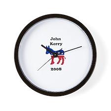 John Kerry Wall Clock