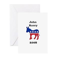 John Kerry Greeting Card
