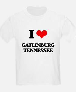 I love Gatlinburg Tennessee T-Shirt