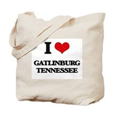 I love Gatlinburg Tennessee Tote Bag