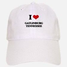 I love Gatlinburg Tennessee Baseball Baseball Cap