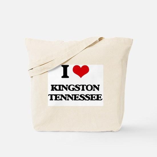 I love Kingston Tennessee Tote Bag