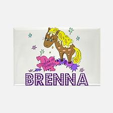 I Dream of Ponies Brenna Rectangle Magnet