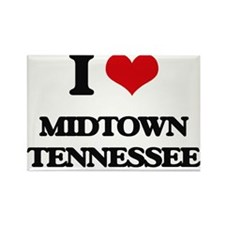 I love Midtown Tennessee Magnets