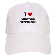 I love Midtown Tennessee Baseball Cap