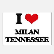 I love Milan Tennessee Postcards (Package of 8)
