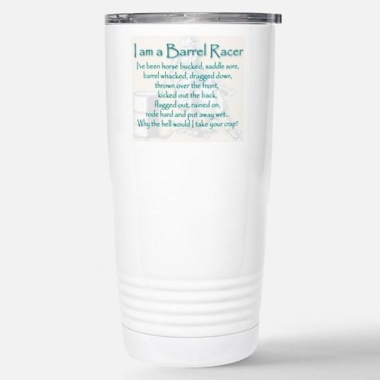 I am a Barrel Racer Travel Mug