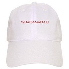 Whatsamatta U-Opt red 550 Baseball Baseball Cap