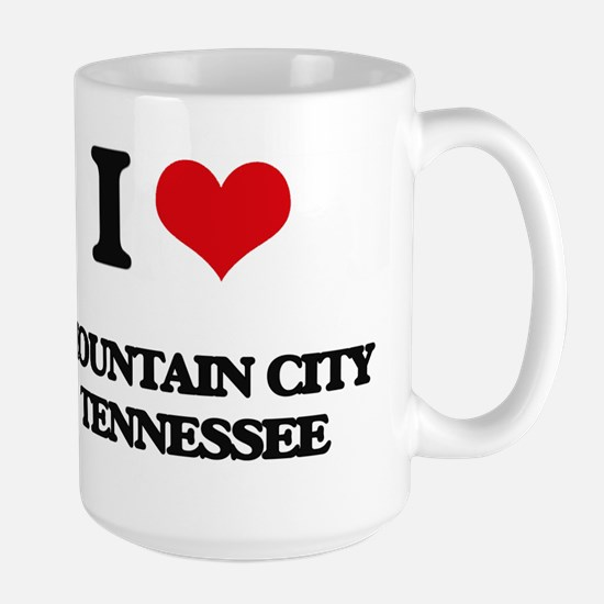 I love Mountain City Tennessee Mugs