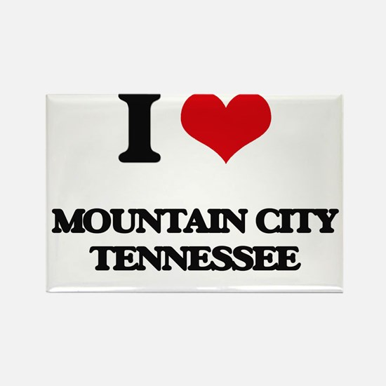 I love Mountain City Tennessee Magnets