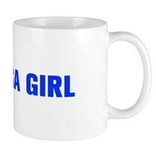 Yoga Girl-Akz blue 500 Mugs