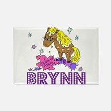 I Dream of Ponies Brynn Rectangle Magnet