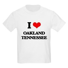 I love Oakland Tennessee T-Shirt