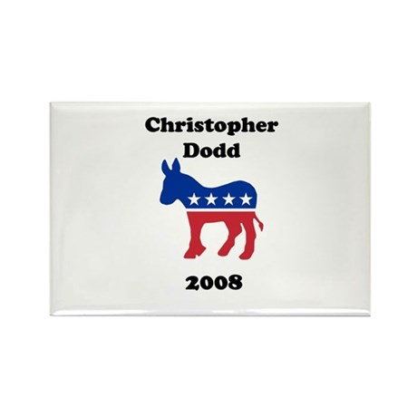 Christopher Dodd Rectangle Magnet (100 pack)