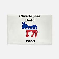 Christopher Dodd Rectangle Magnet