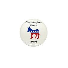 Christopher Dodd Mini Button (10 pack)