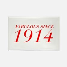 FABULOUS SINCE 1914-Bod red 300 Magnets